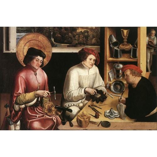 St Eligius in the Workshop