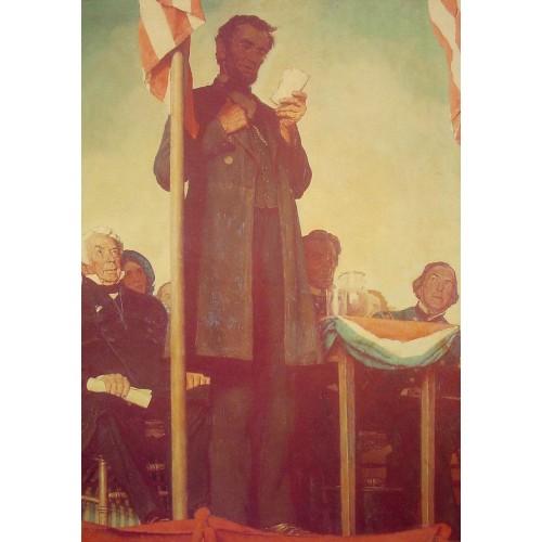 Abraham Delivering the Gettysburg Address