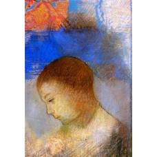 Portrait of Ari Redon in Profile