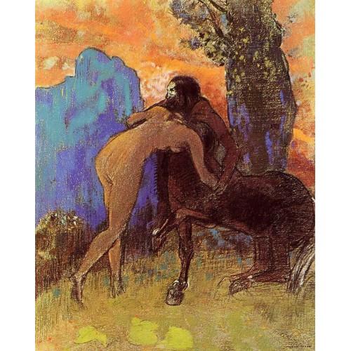 Woman and Centaur