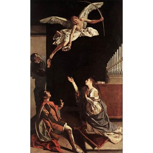 Sts Cecilia Valerianus and Tiburtius