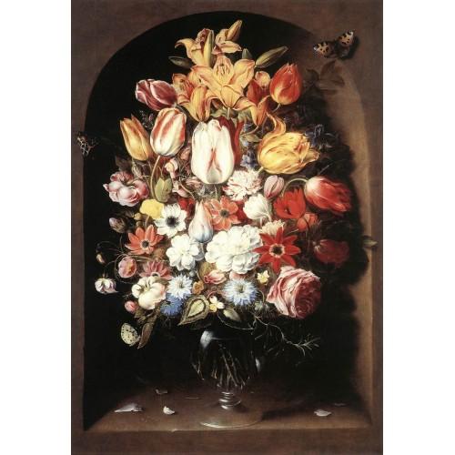 Bouquet in a Niche