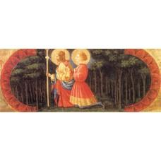 Sts John and Ansano (Quarate predella)