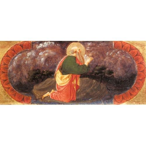 Sts John on Patmos (Quarate predella)