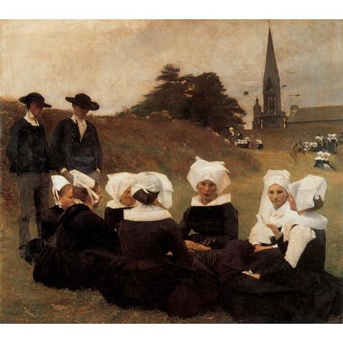 Breton Women at a Pardon