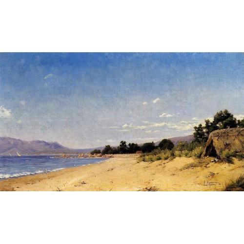 Hut by the Seashore