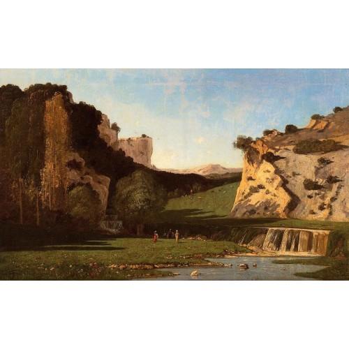 River Valley at Lourmarin