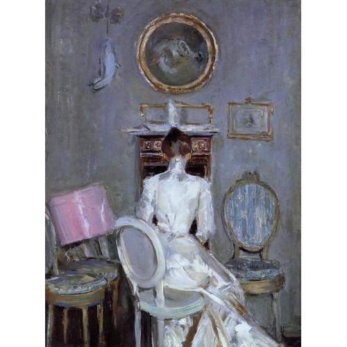Madame Helleu in Her Husband's Studio