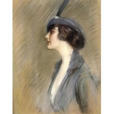 Portrait of Clara Weil