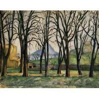 Chestnut Trees at the Jas de Bouffan 1
