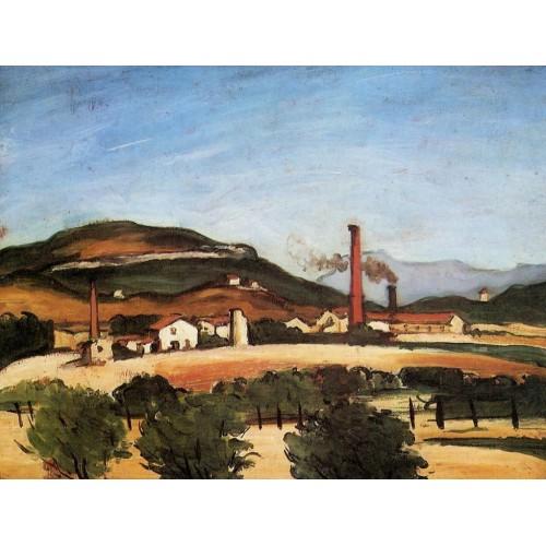 Factories Near Mont de Cengle
