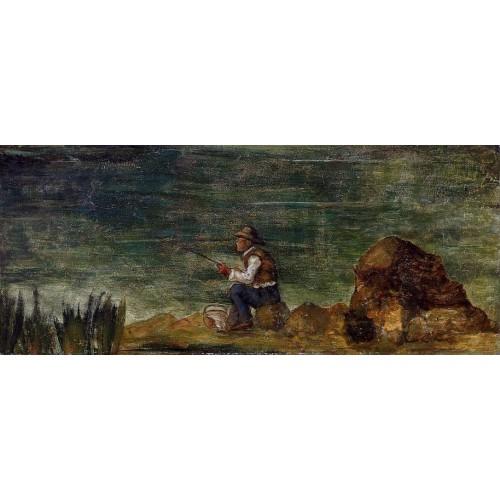 Fisherman on the Rocks