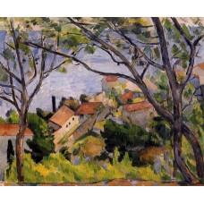 L'Estaque View through the Trees