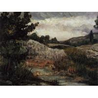 Landscape Mont Sainte Victoire