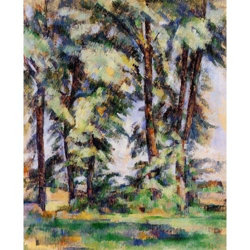 Large Trees at Jas de Bouffan