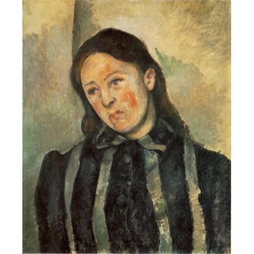 Madame Cezanne with Unbound Hair