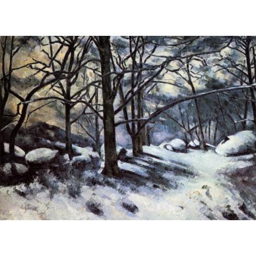 Melting Snow Fontainbleau