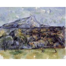Mont Sainte Victoire Seen from les Lauves 2