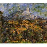 Mont Sainte Victoire Seen from les Lauves 3