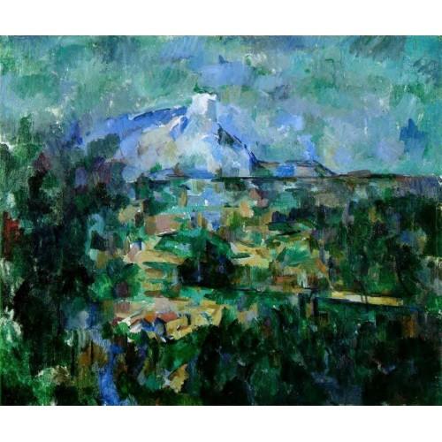 Mont Sainte Victoire Seen from les Lauves 4