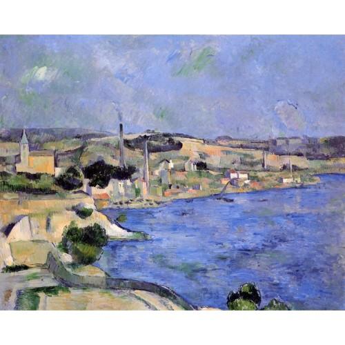 Saint Henri and the Bay of l'Estaque