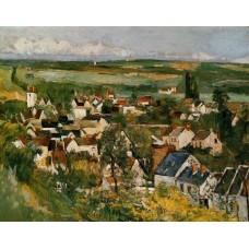 View of Auvers sur Oise