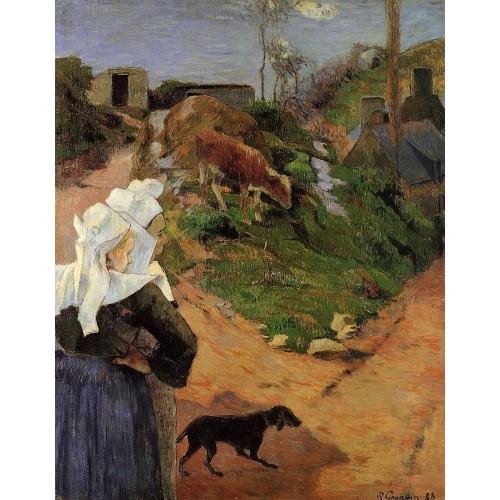 Breton Women at the Turn