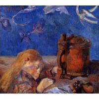 Clovis Gauguin Asleep