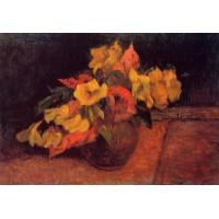 Evening Primroses in a Vase