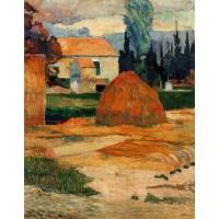 Haystack near Arles