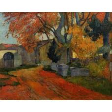 Lane at Alchamps Arles