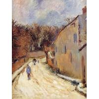 Osny rue de Pontoise Winter
