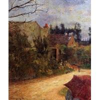 Pissarro's Garden Quai du Pothuis Pontoise