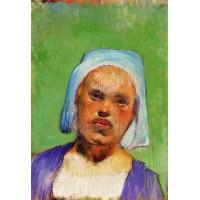 Portrait of a Pont Aven Woman