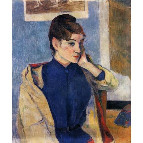 Portrait of Madeline Bernard