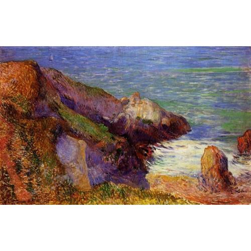 Rocks on the Breton Coast