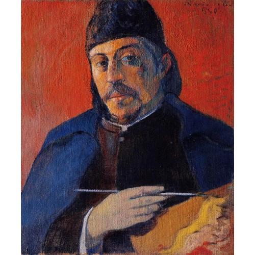 Self Portrait with Palette