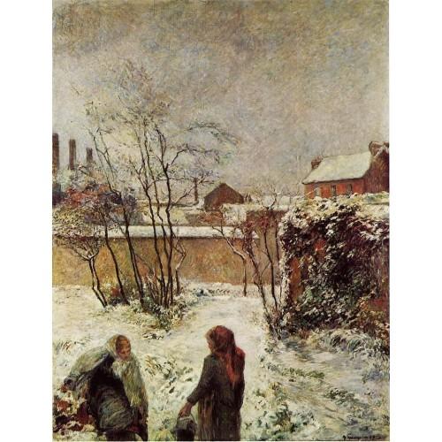 The Garden in Winter rue Carcel