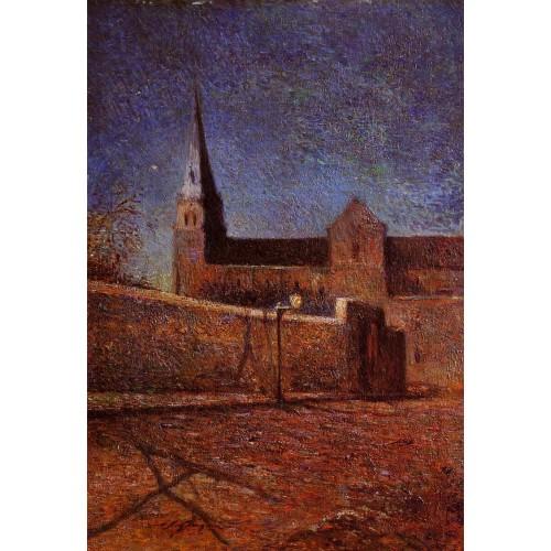 Vaugirard Church by Night