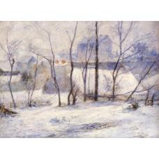 Winter Landscape Effect of Snow