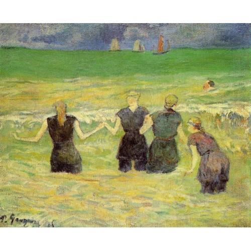 Women Bathing Dieppe