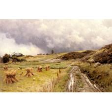 A Pastoral Landscape after a Storm