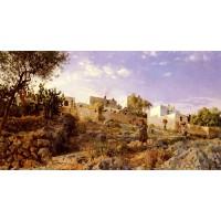 A View Of Anacapri