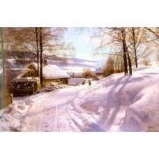 On The Snowy Path