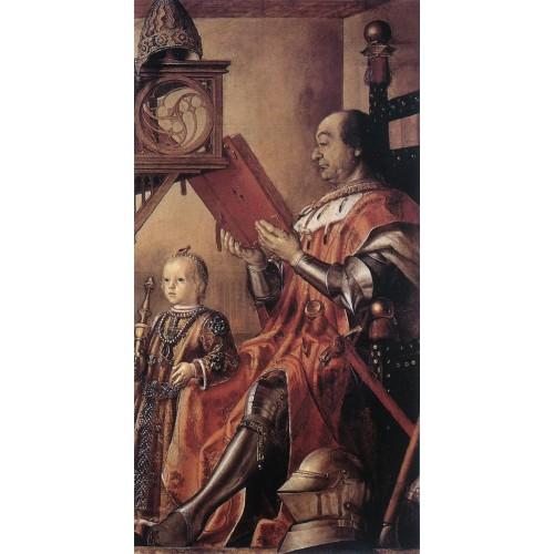 Prince Federico da Montefeltro and his Son