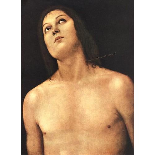 Bust of St Sebastian