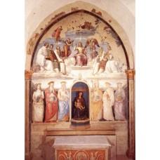 Trinity and Six Saints