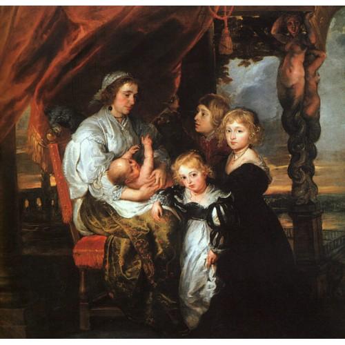 Deborah Kip and her Children