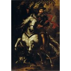 Portrait of Carlo Doria on Horseback