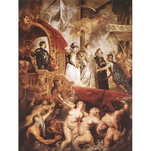 The Landing of Marie de' Medici at Marseilles